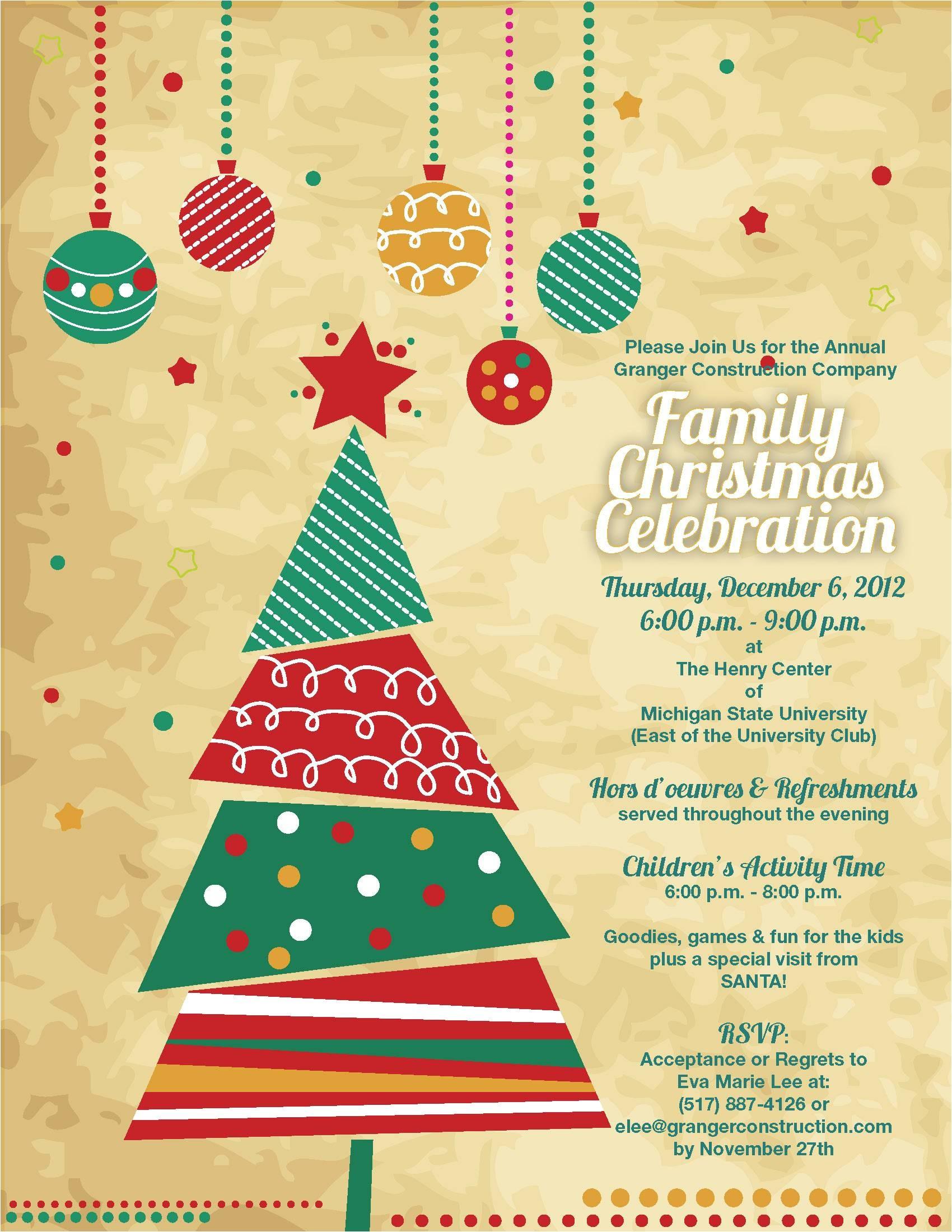 Office Holiday Party Invitation Ideas Christmas Party Invitation Template Party Invitations