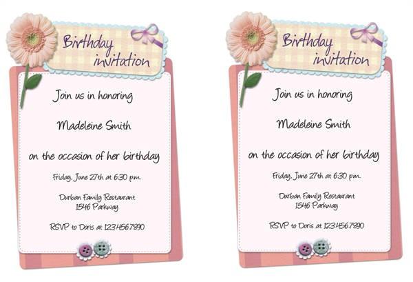 office invitation template