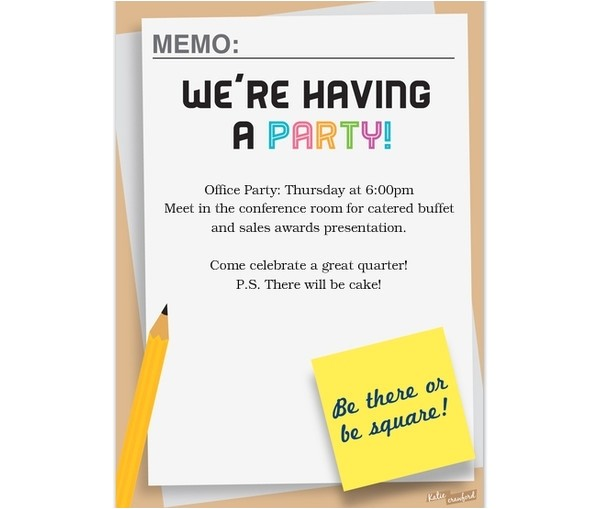 office party invitation email 121814455