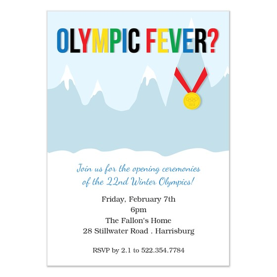 olympic fever party