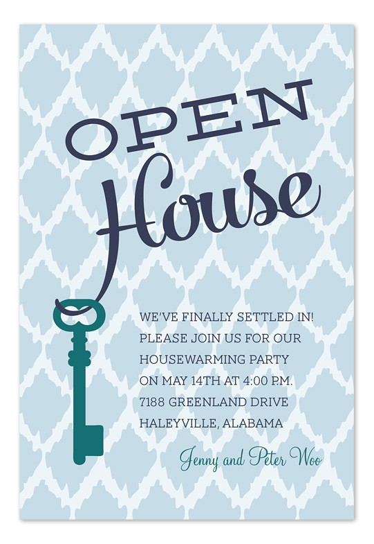 open house key