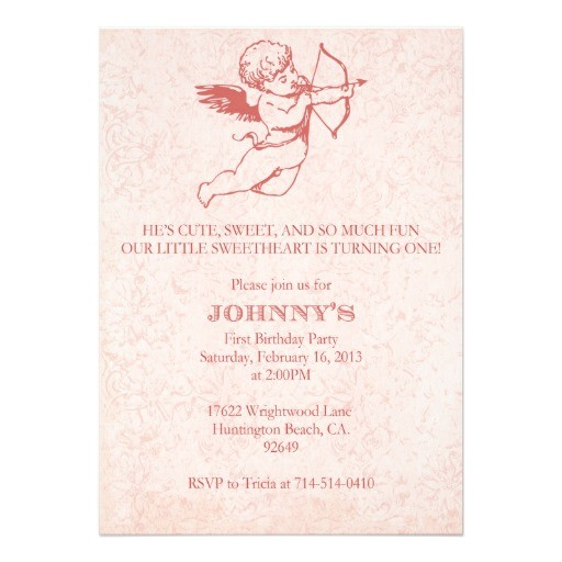 valentines day birthday invitation custom order 161315452286984106