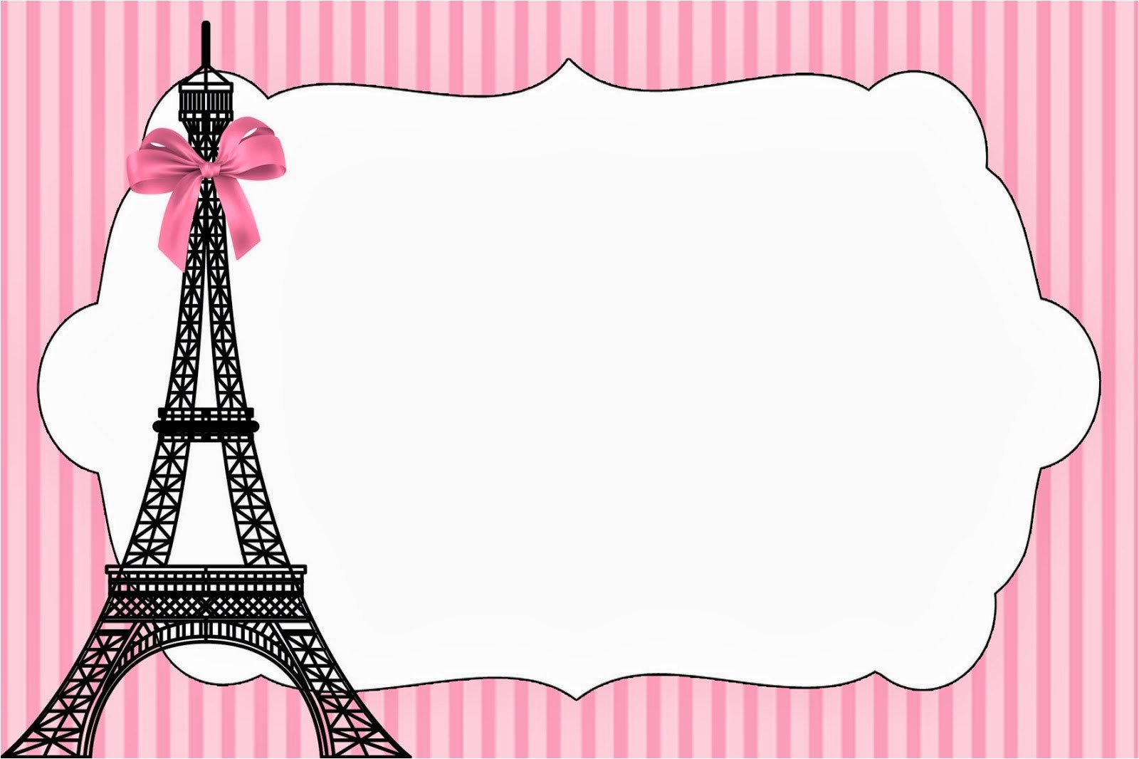paris invitations and free party
