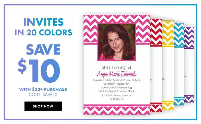 custom invitations banners