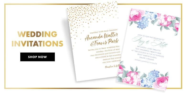 weddings custom invitations