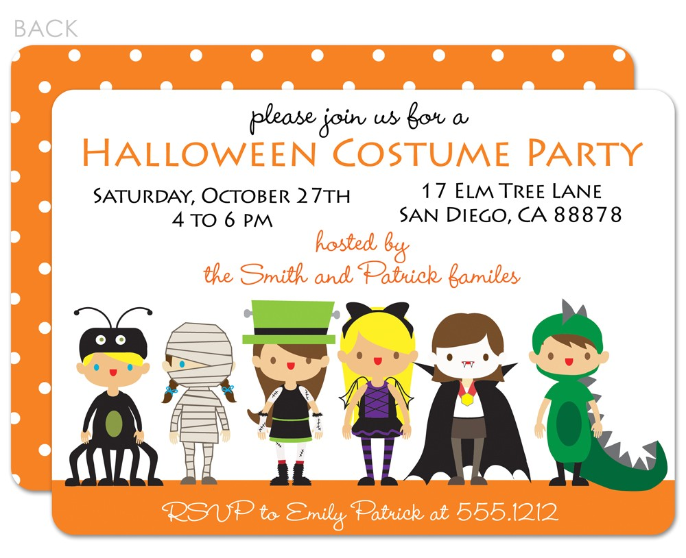 custom party invitations cartoon ideas