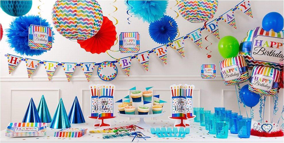 Party City Invitations for Birthdays Bright Dot Chevron Birthday Party Supplies Chevron