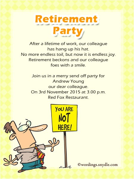 party invitation email to colleagues