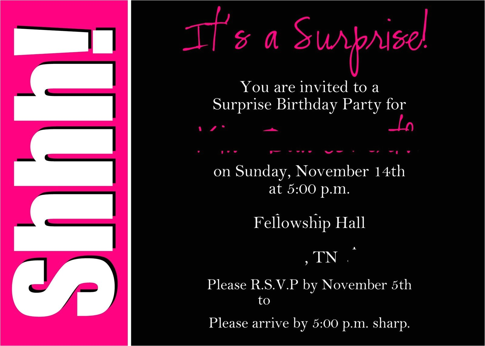 18 birthday invitation maker