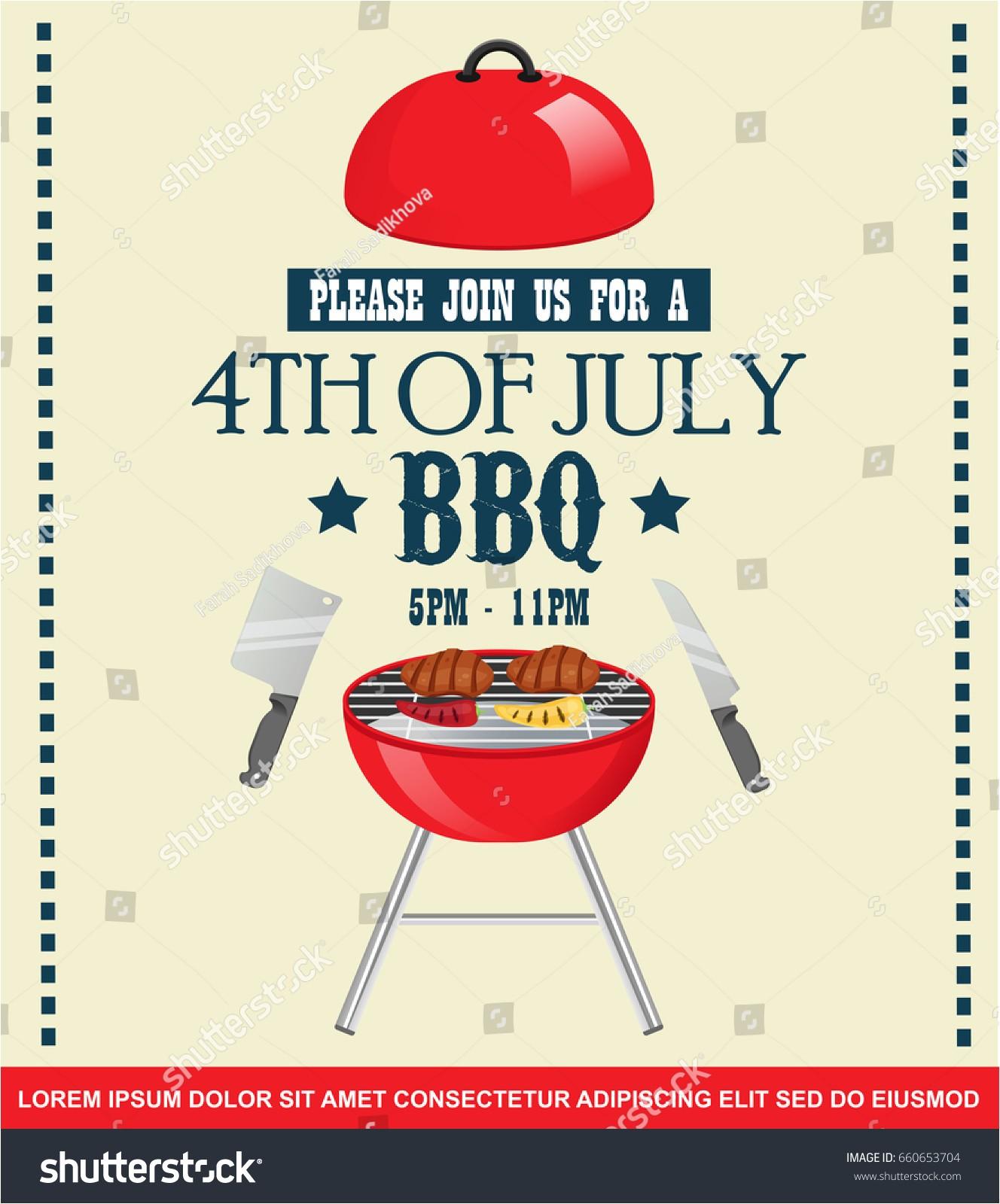 bbq party invites