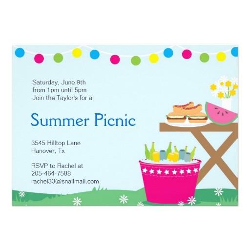 backyard party invitations 2