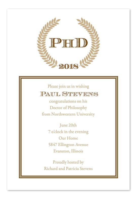 Phd Graduation Party Invitations Doctoral Graduation Invitations Party Invitations Ideas