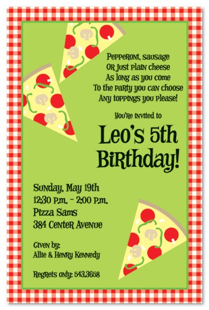 free pizza party invitations download simple design