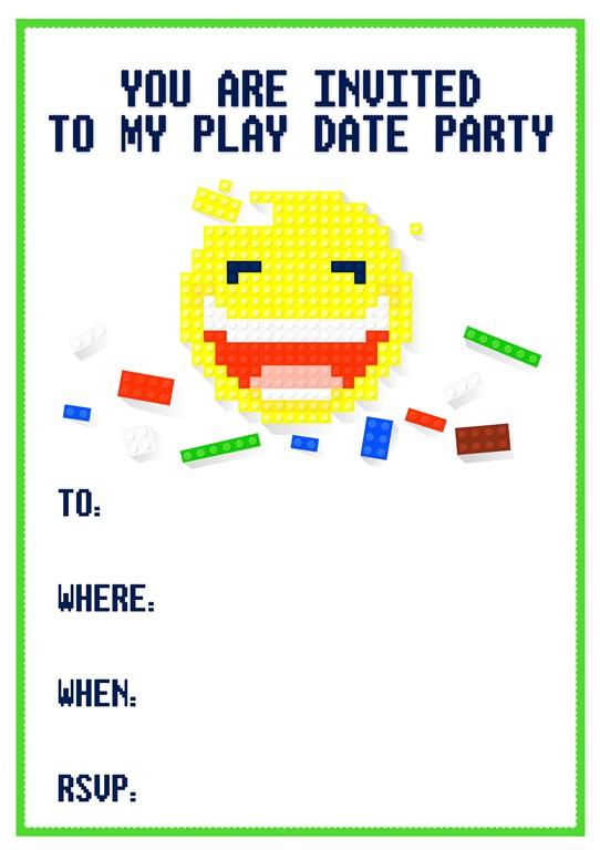 free playdate invitations