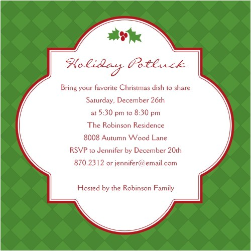 nice christmas potluck party invitation wording looks newest article