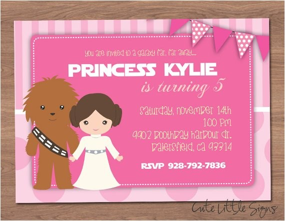 starwars princess leia birthday