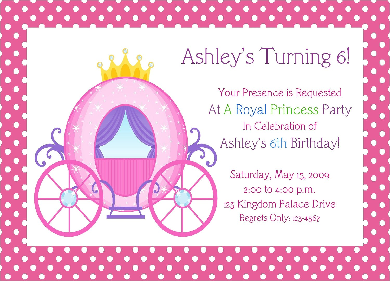 post free printable princess birthday invitations 26740