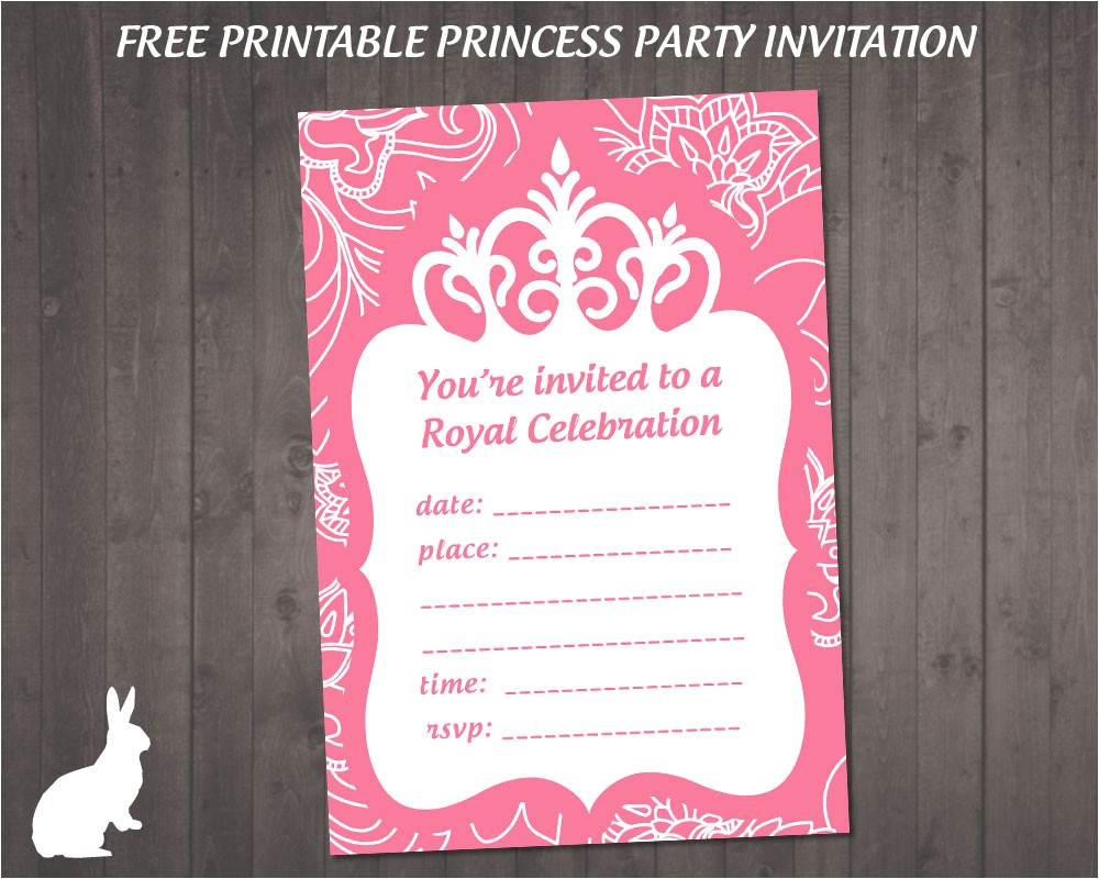 free party invitations