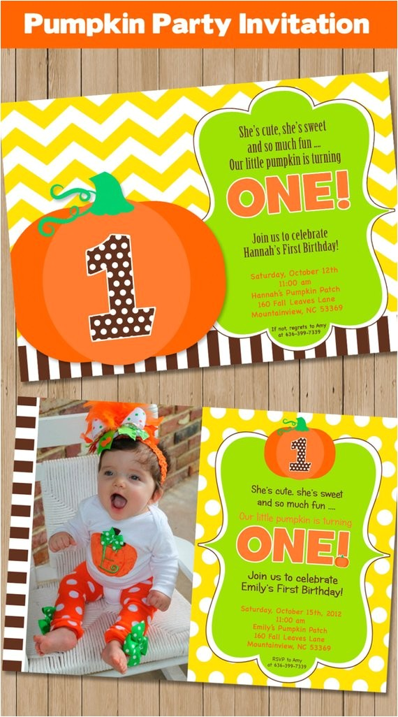 pumpkin patch party invitation pumpkin