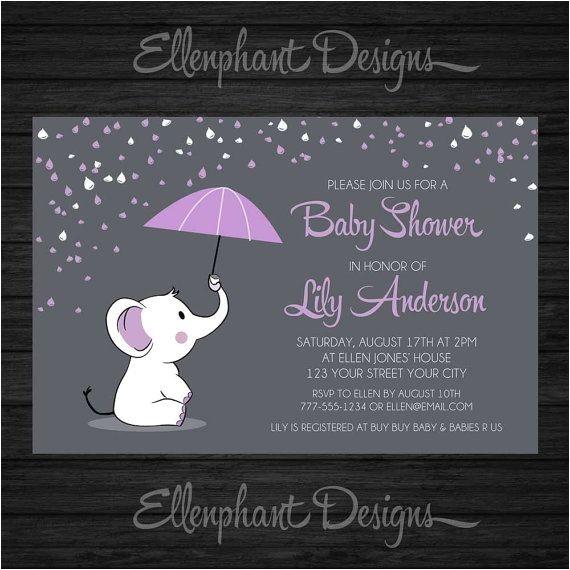 rain baby showers