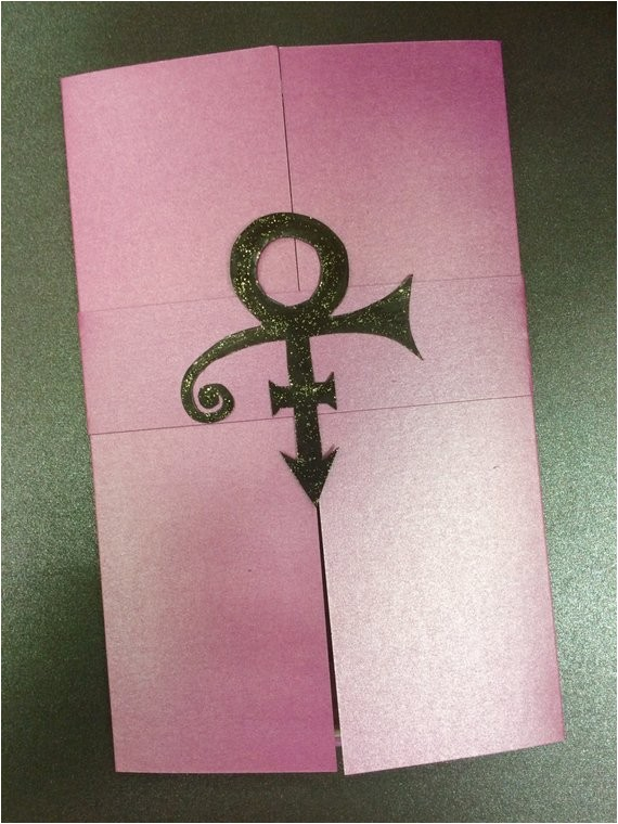 prince themed invitations purple rain