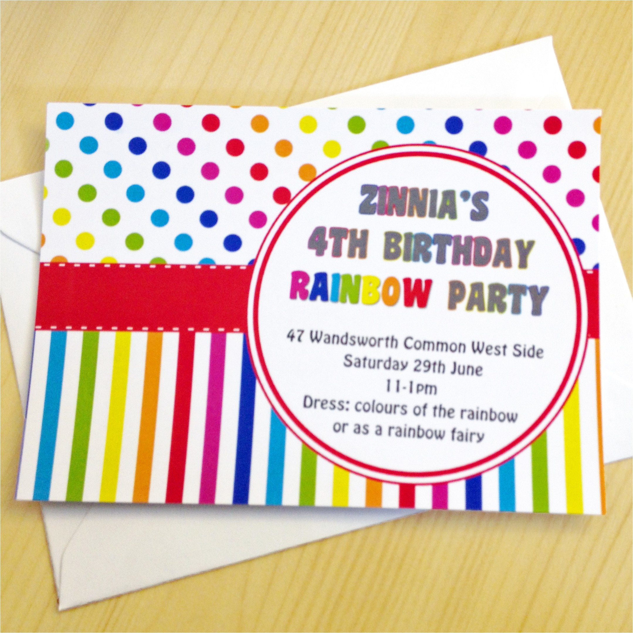 celebrate summer with a childrens rainbow themed party