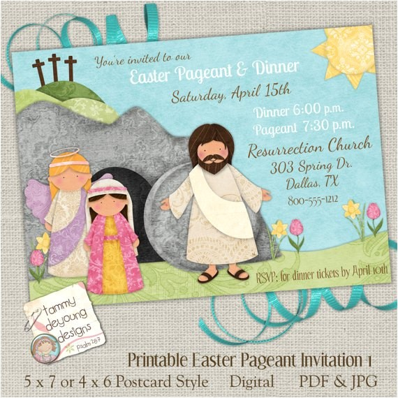 christian easter party ideas