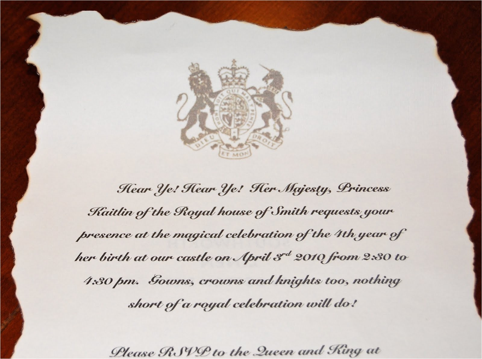 princess kaitlins royal birthday ball