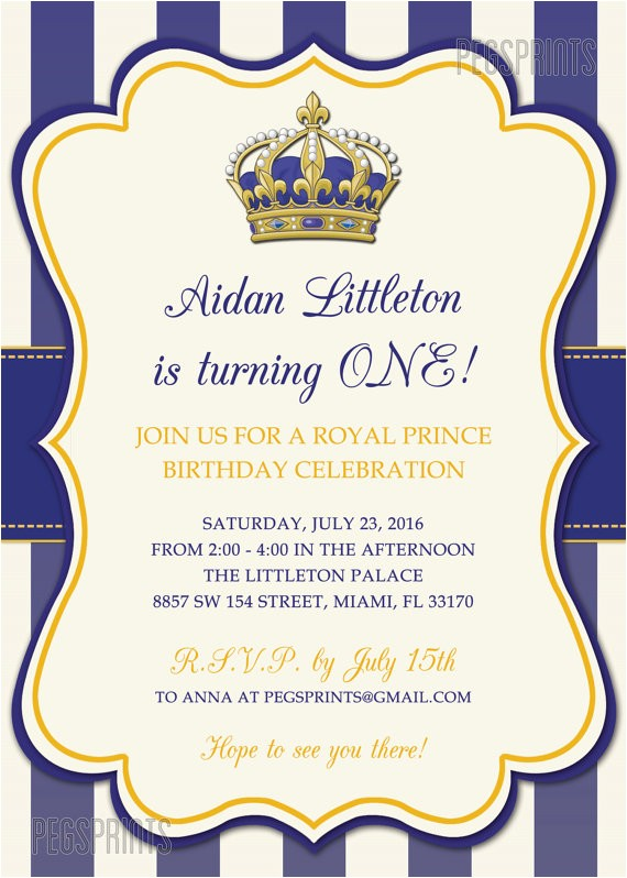 royal birthday invitation template free