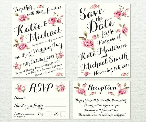 wedding invitation package fully