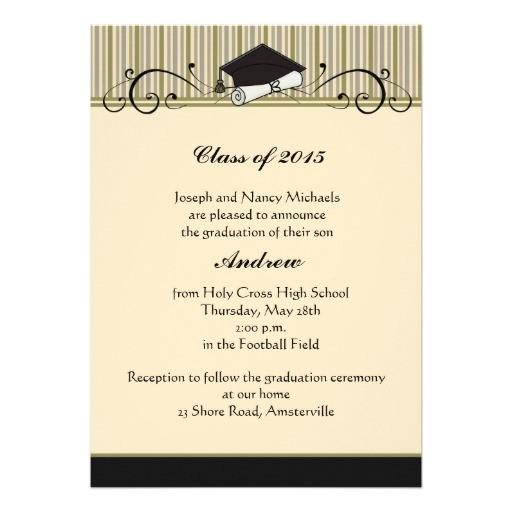 Scroll Graduation Invitations Graduation Scroll Graduation Invitation 5 Quot X 7