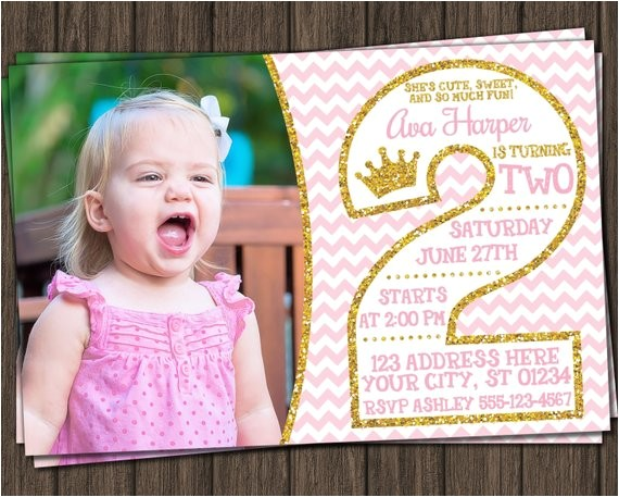 pink and gold 2nd birthday invitations ref br feed 24 br feed tlp home garden
