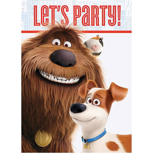 secret life pets party ideas