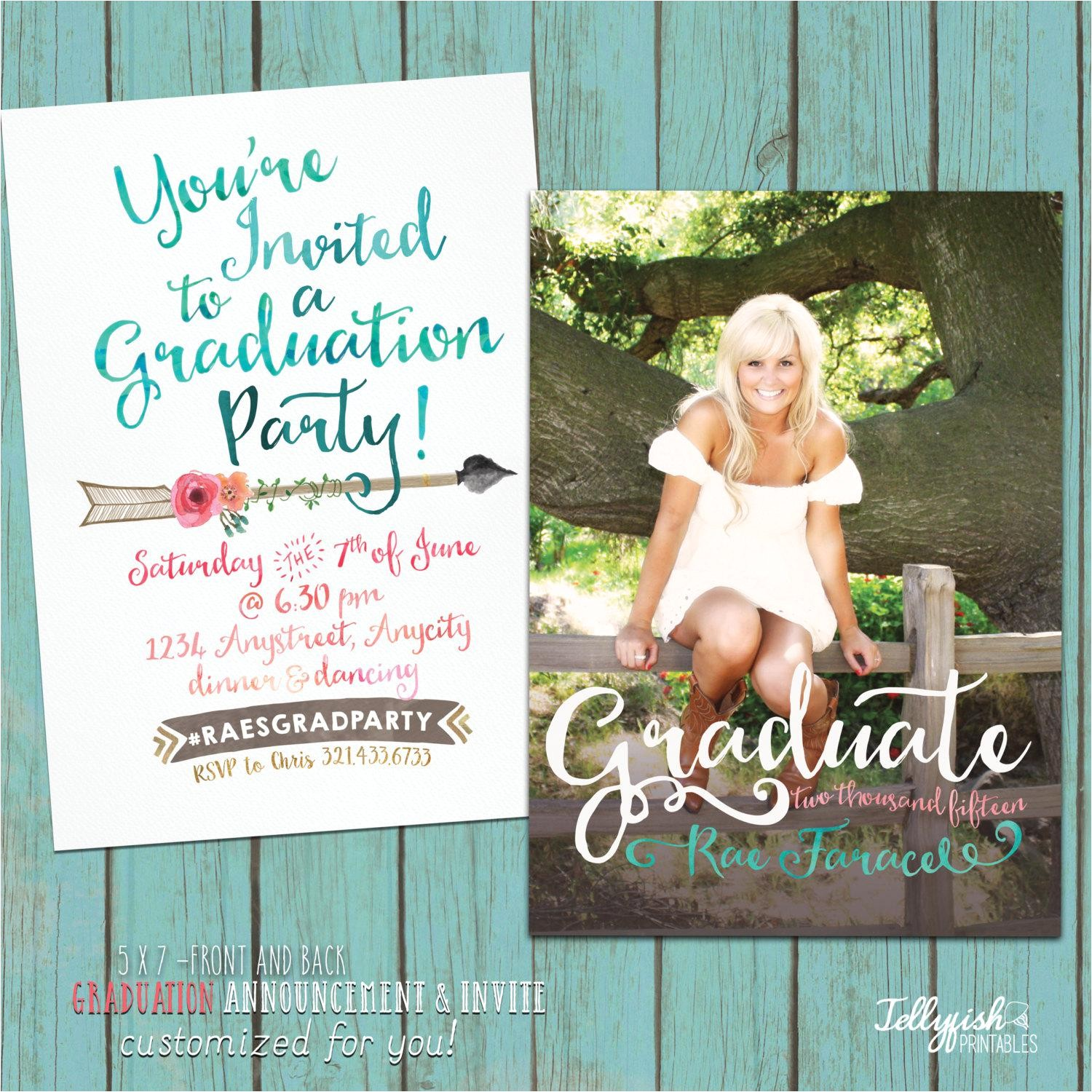 graduation party invites