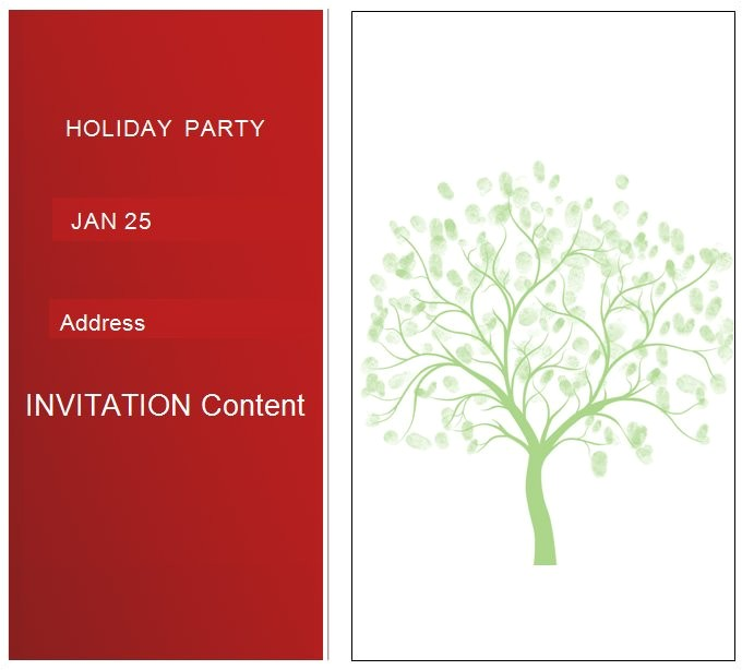 Simple Christmas Party Invitations 27 Best Blank Invitation Templates Psd Ai Free