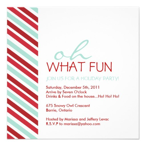 Simple Christmas Party Invitations Simple Customisable Christmas Party Invitation Zazzle