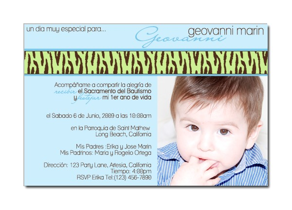 spanish birthday invitations