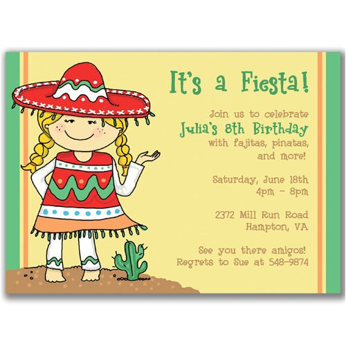 spanish birthday invitations 2