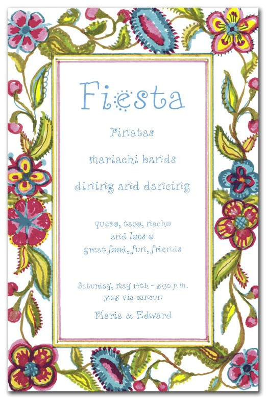 Spanish Party Invitation Template Spanish Birthday Invitations Ideas Bagvania Free