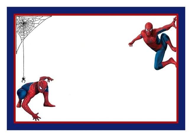 Spiderman Party Invitation Template Spiderman Free Printable Invitation Templates