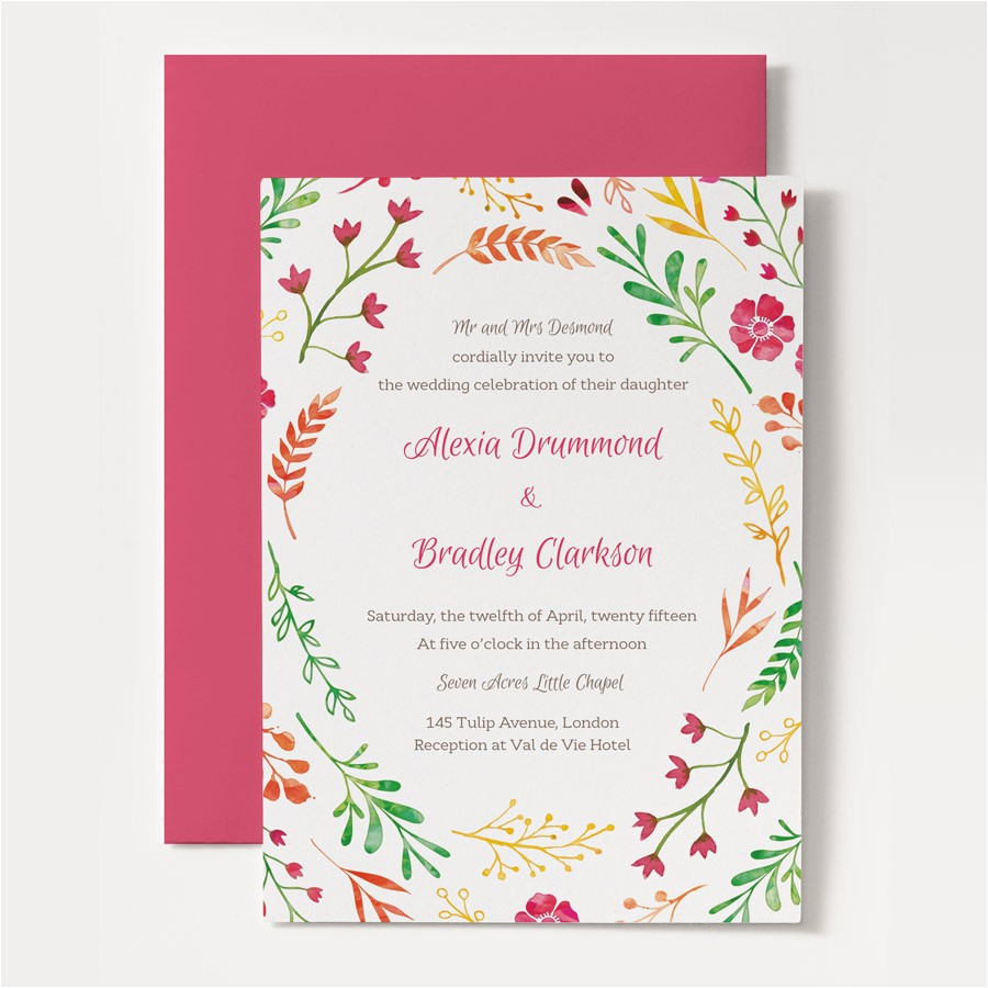 Spring Party Invitation Templates Free Spring Invitation Templates