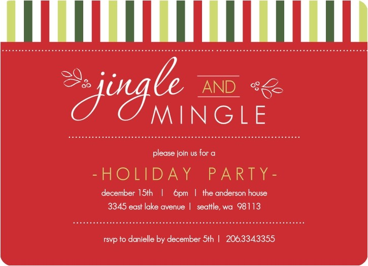 staff christmas party invitation templates