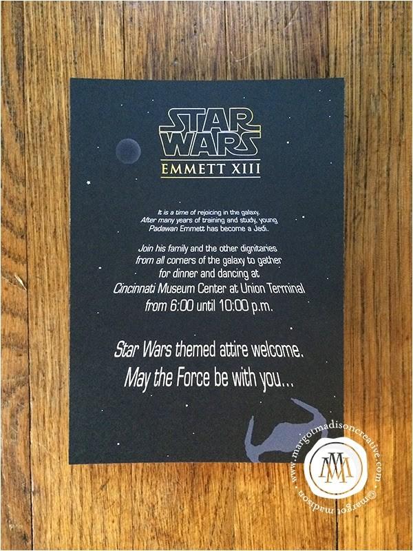 star wars themed bar mitzvah
