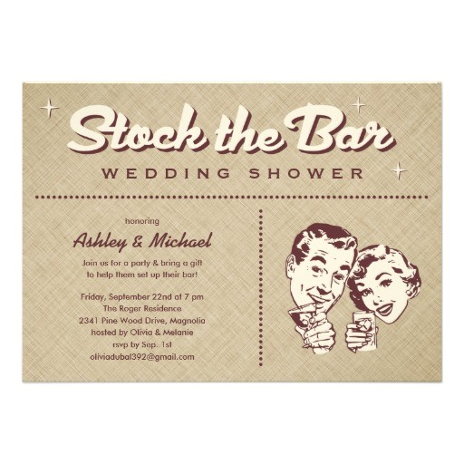 retro stock the bar party invitations 161425108407663125