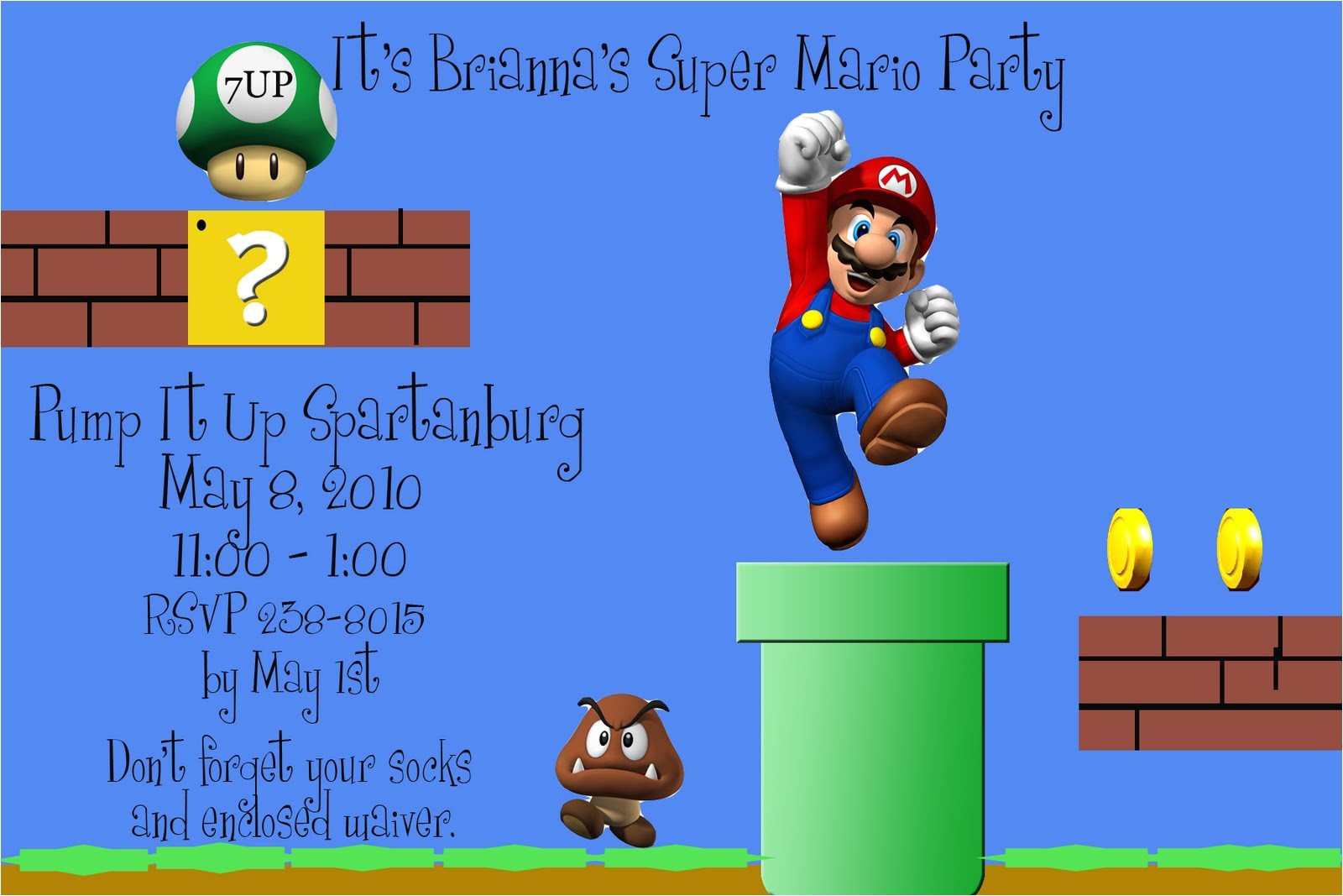 super mario bros party