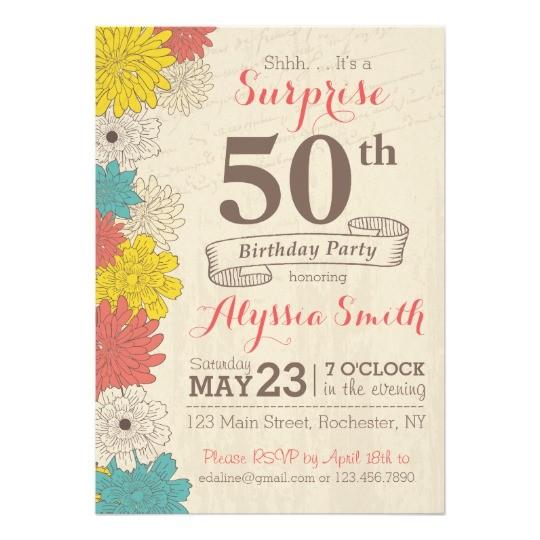 surprise 50th birthday invitation 256709308459044780