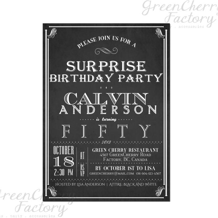 4213 surprise birthday invitation adult