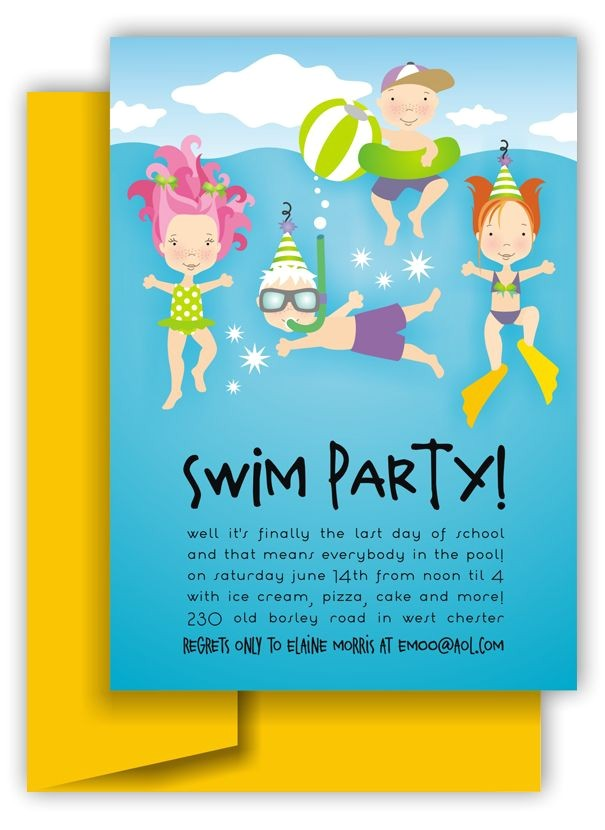 pool party ideas and graphics