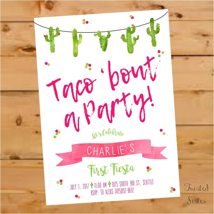 fiesta invitations