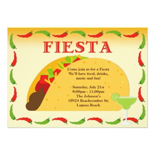 fiesta party invitation 161390102846299544